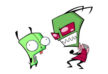 zim-and-gir-from-invader-zim-series-free-vector-thumb