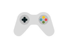 Gamepad Free Flat Vector Icon