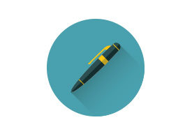 Pen Flat Vector Icon