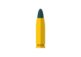 Bullet Flat Icon