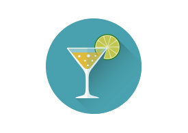 Drink Flat Style Vector Icon