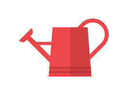 Flat Watering Can