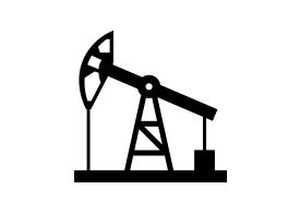 Oil Pump Free Vector Silhouette