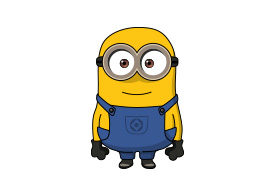Minion Vector Drawing