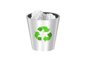 Recycle Bin Free Vector Icon