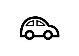 Car Outline Free Vector Icon
