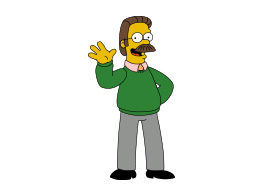 Ned Flanders Simpsons Free Vector