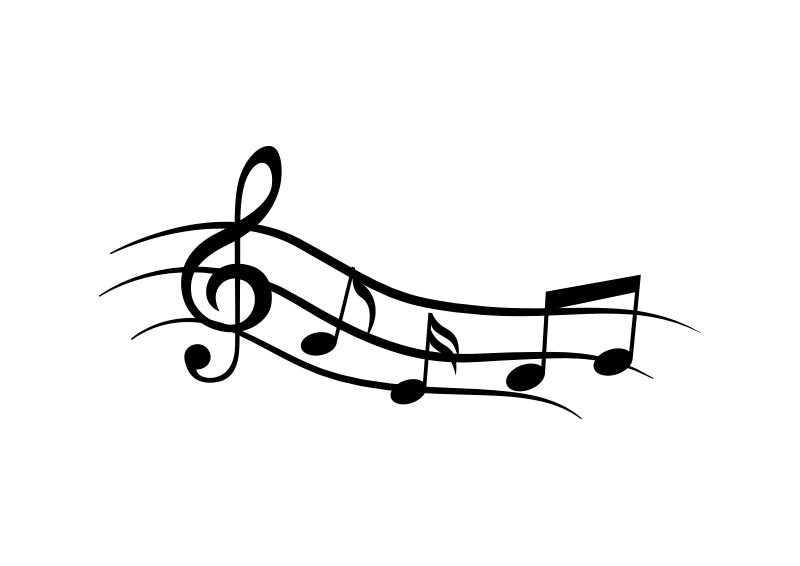 wave of music notes vector superawesomevectors music note clipart border music note clip art images