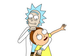 Rick and Morty Vector
