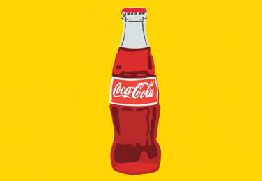 Coca cola bottle vector - free vector download  Coke