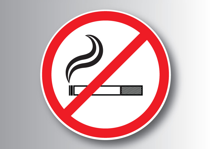 Really. agree No smoking sign vector you