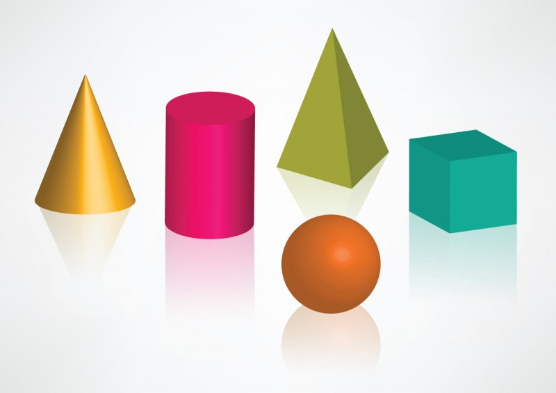 geometric shapes free vector design download free vector art