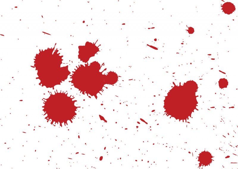 Blood splatters -download free vector art