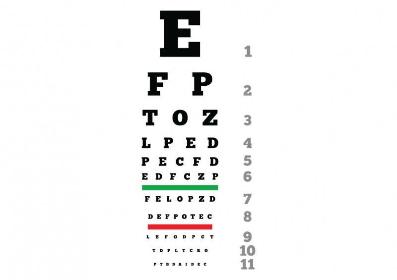 Eye Chart Download Free Vector Image