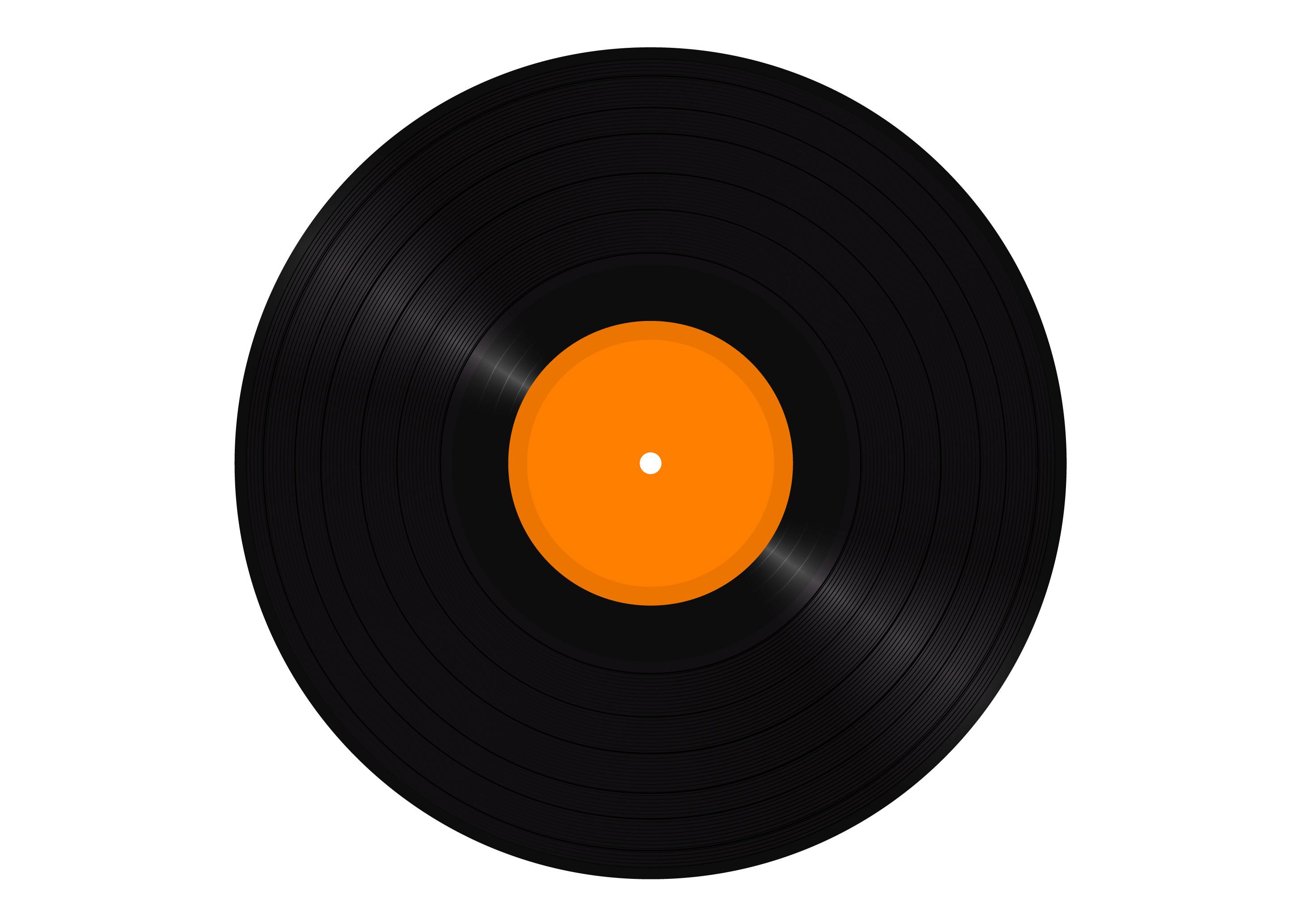 Free Vector Vinyl Lp Disc