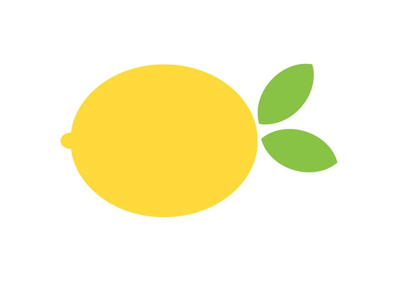 flat lemon vector music vectors free music vector oblong