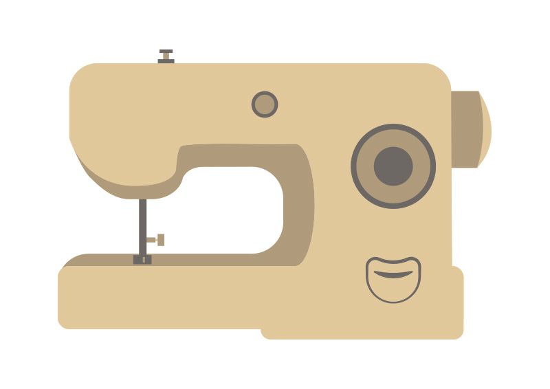 Sewing Machine Free Vector Interesting Sewing Machine Vector Free