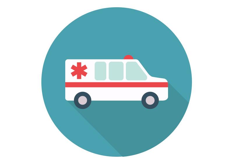 ambulance car flat vector icon hippy clip art hippie clip art free