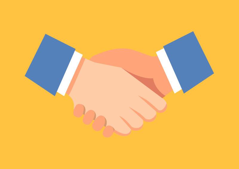 handshake flat vector rh superawesomevectors com handshake vector icon free handshaking vector