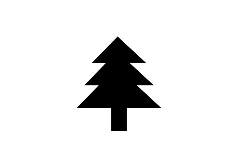 Simple Conifer Tree Icon