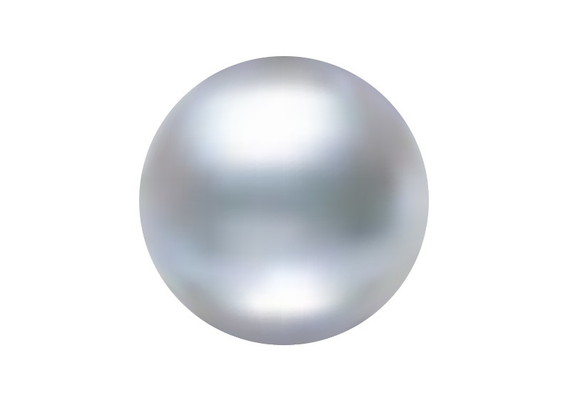 Realistic Pearl Vector Illustration
