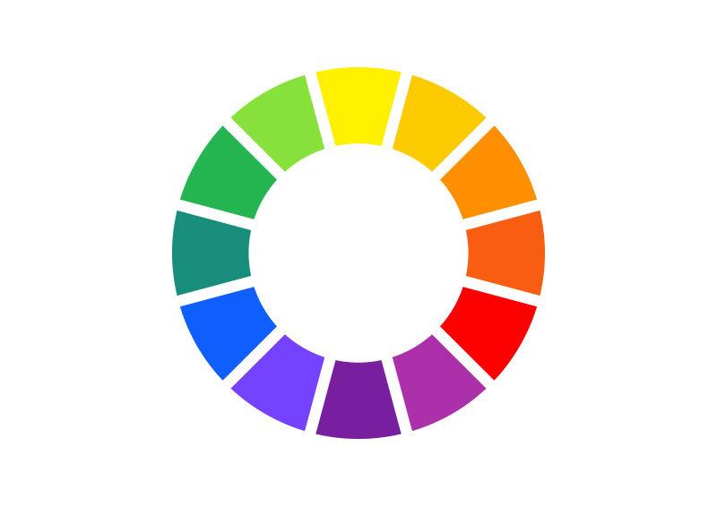 free vector color wheel - superawesomevectors