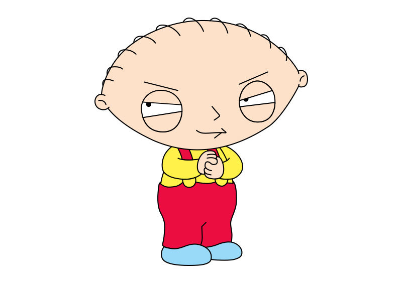 Family Guy Stewie Griffin Vector - SuperAwesomeVectors