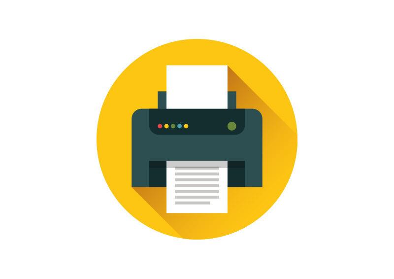 flat printer icon superawesomevectors vector free download illustrator file free download vector logo ai file