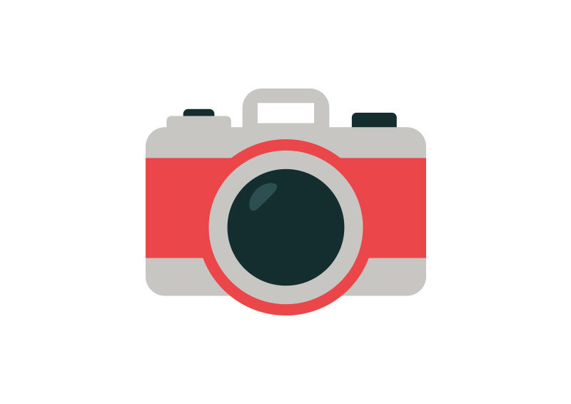 Camera Flat Style Vector Icon Superawesomevectors
