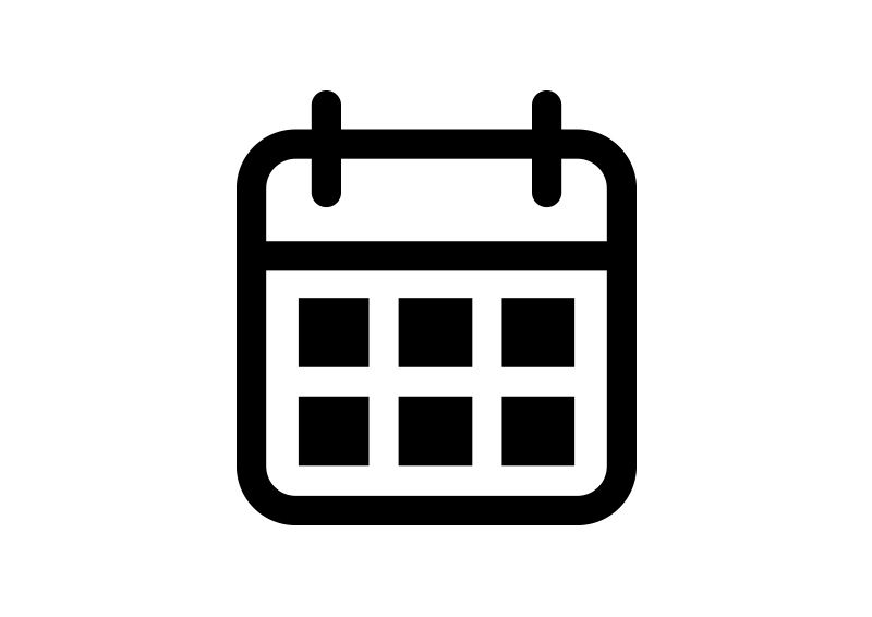 calendar outline free vector icon superawesomevectors