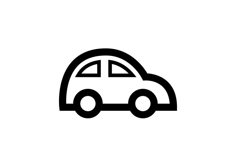 Car Outline Free Vector Icon Superawesomevectors