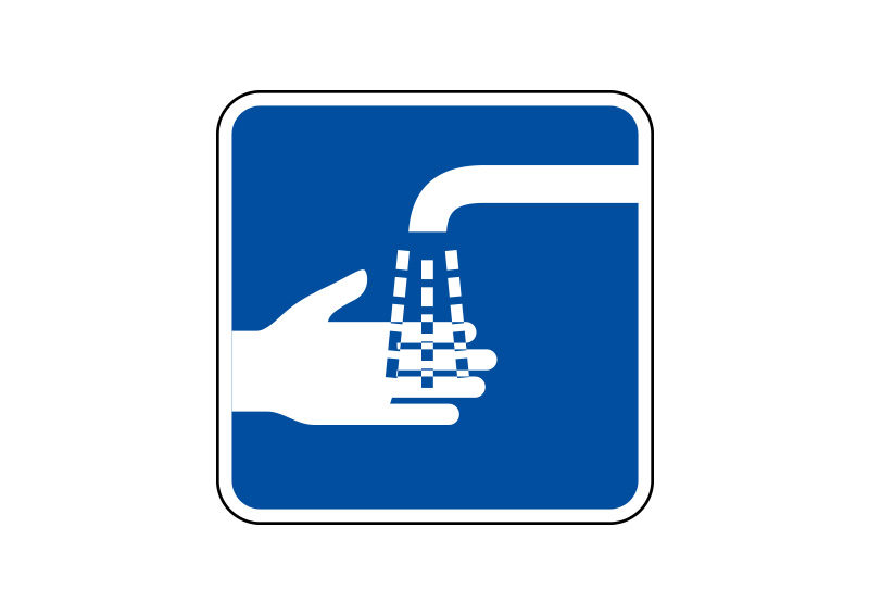 Wash Your Hands Vector Sign Superawesomevectors
