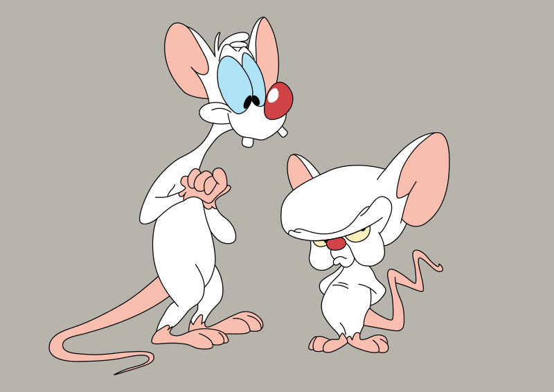 Pinky and the Brain Vector - SuperAwesomeVectors