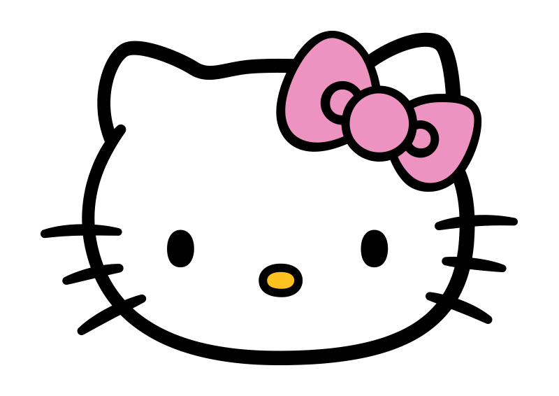 hello kitty vector  free vector download
